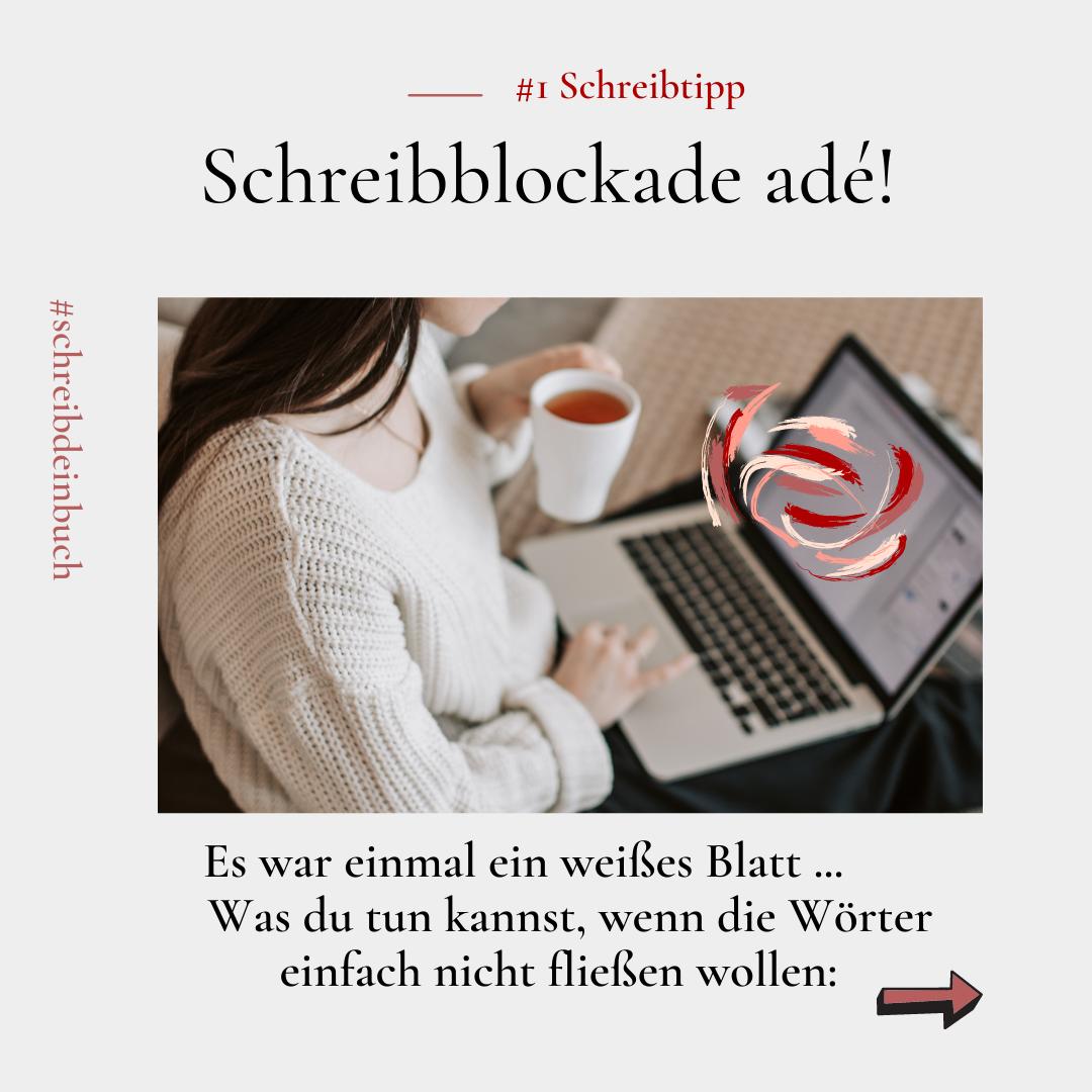 Schreibtipps gegen Schreibblockaden